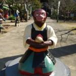 愛知県犬山市栗栖にあるうわさのB級観光スポット「桃太郎公園」に行ってきた