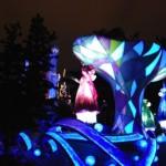 大雨の中のディズニーランド30周年〜その7 夜のパレード