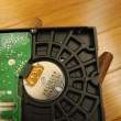 ハードディスクを捨てるために物理破壊をしてみた