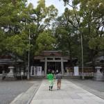 【子連れ甲信越旅】武田信玄の躑躅ヶ崎館の後にある「武田神社」と「宝物殿」に行ってきた